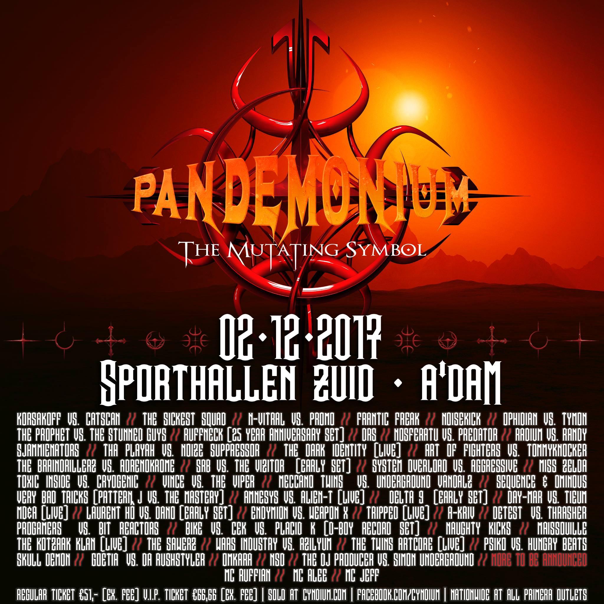 Pandemonium 2017