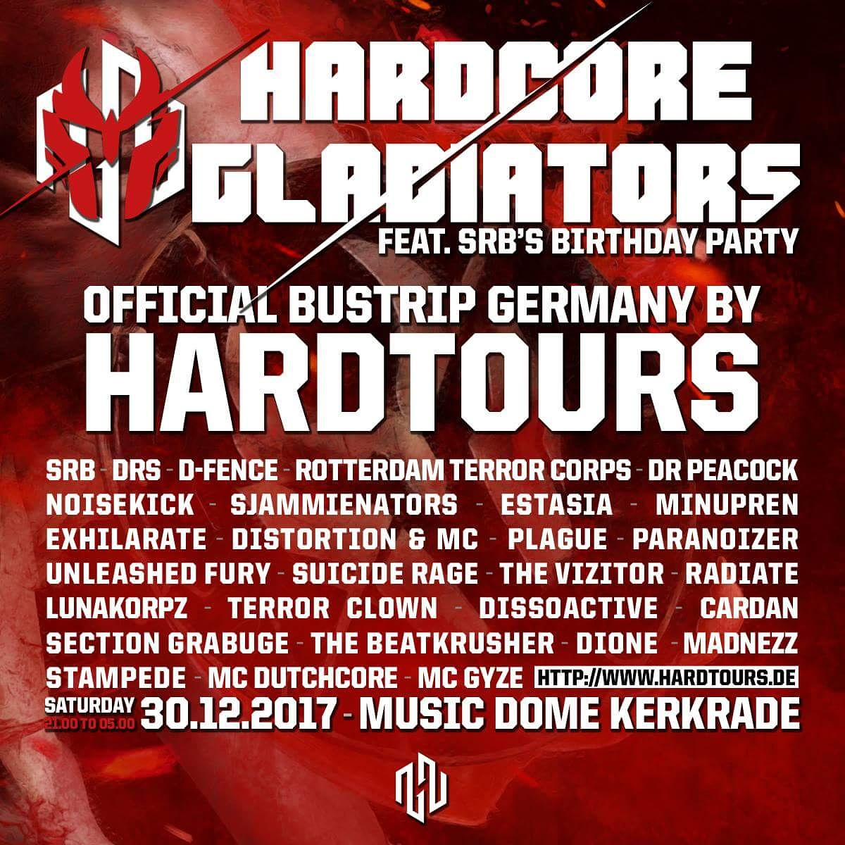 Hardcore Gladiators NL 2017