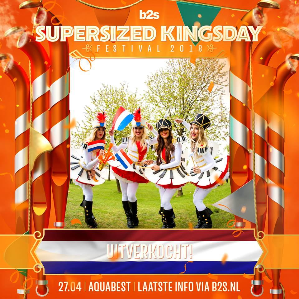 Supersized Kingsday 2018