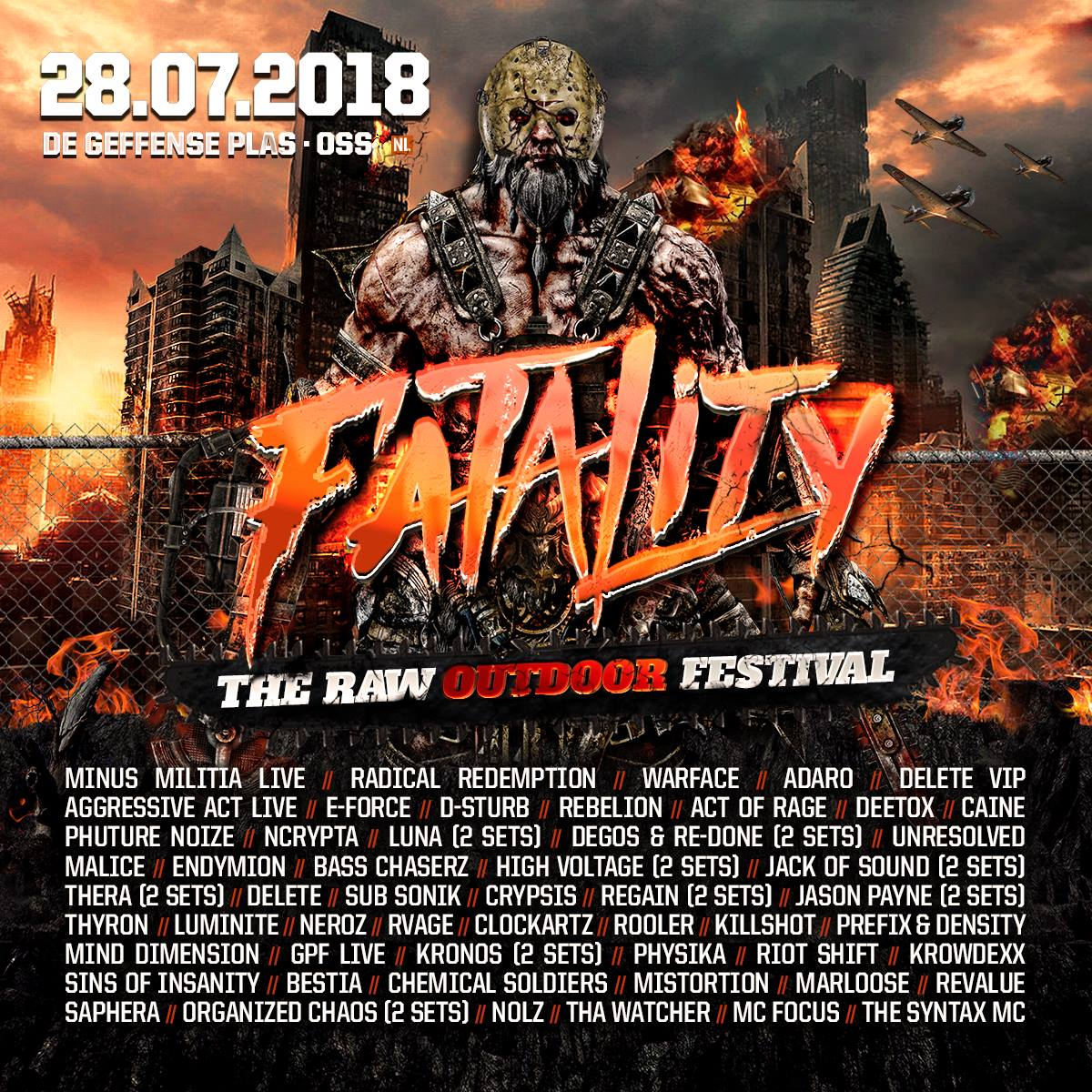 Fatality - The Raw Outdoor Festival 2018