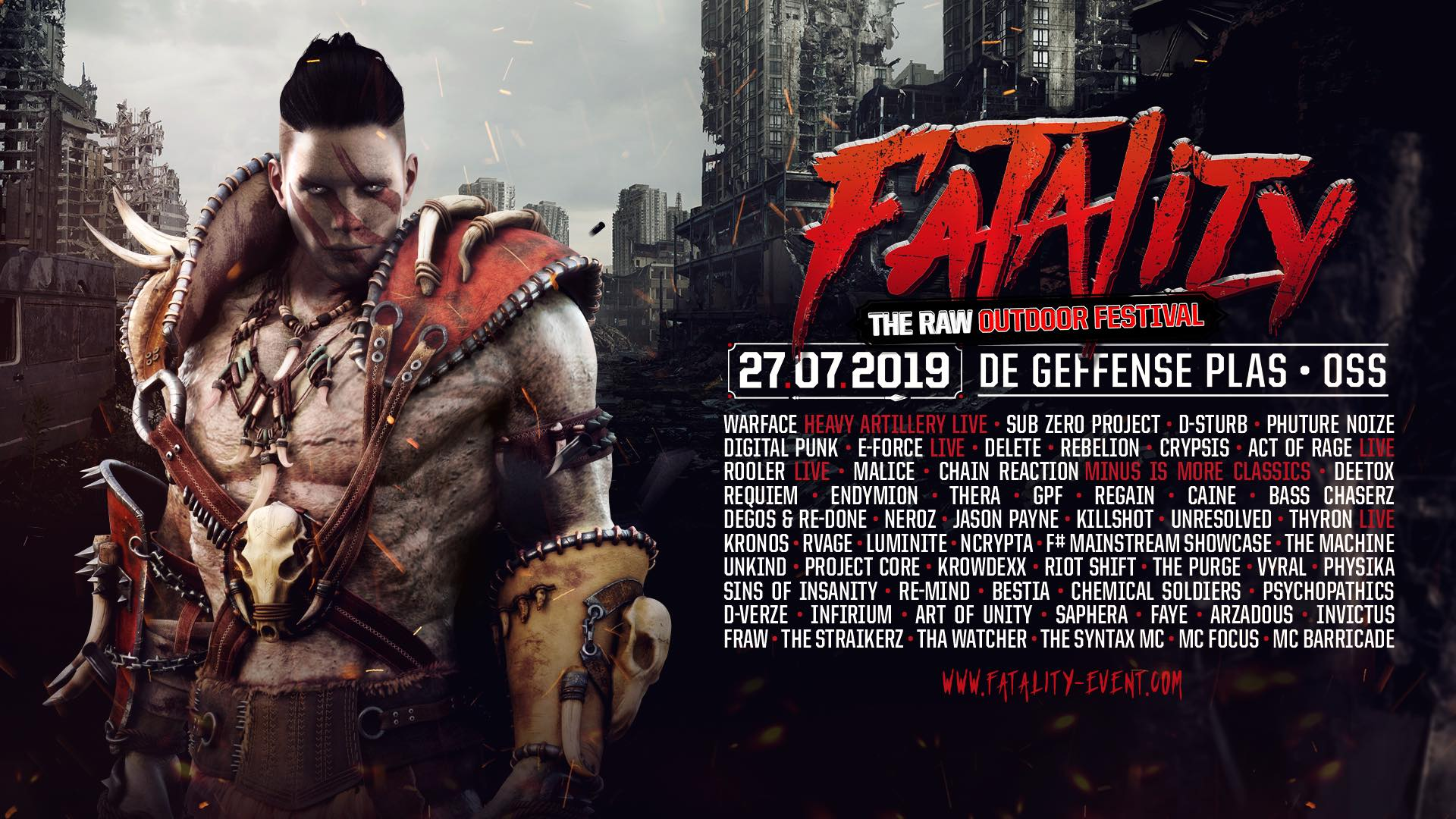 Fatality - The Raw Outdoor Festival 2019