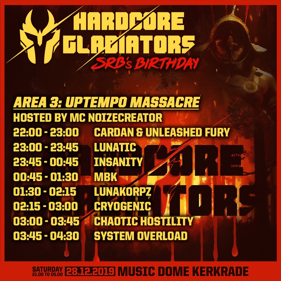 Hardcore Gladiators 2019