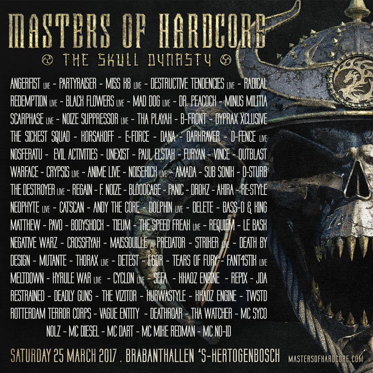 Masters of Hardcore 2017