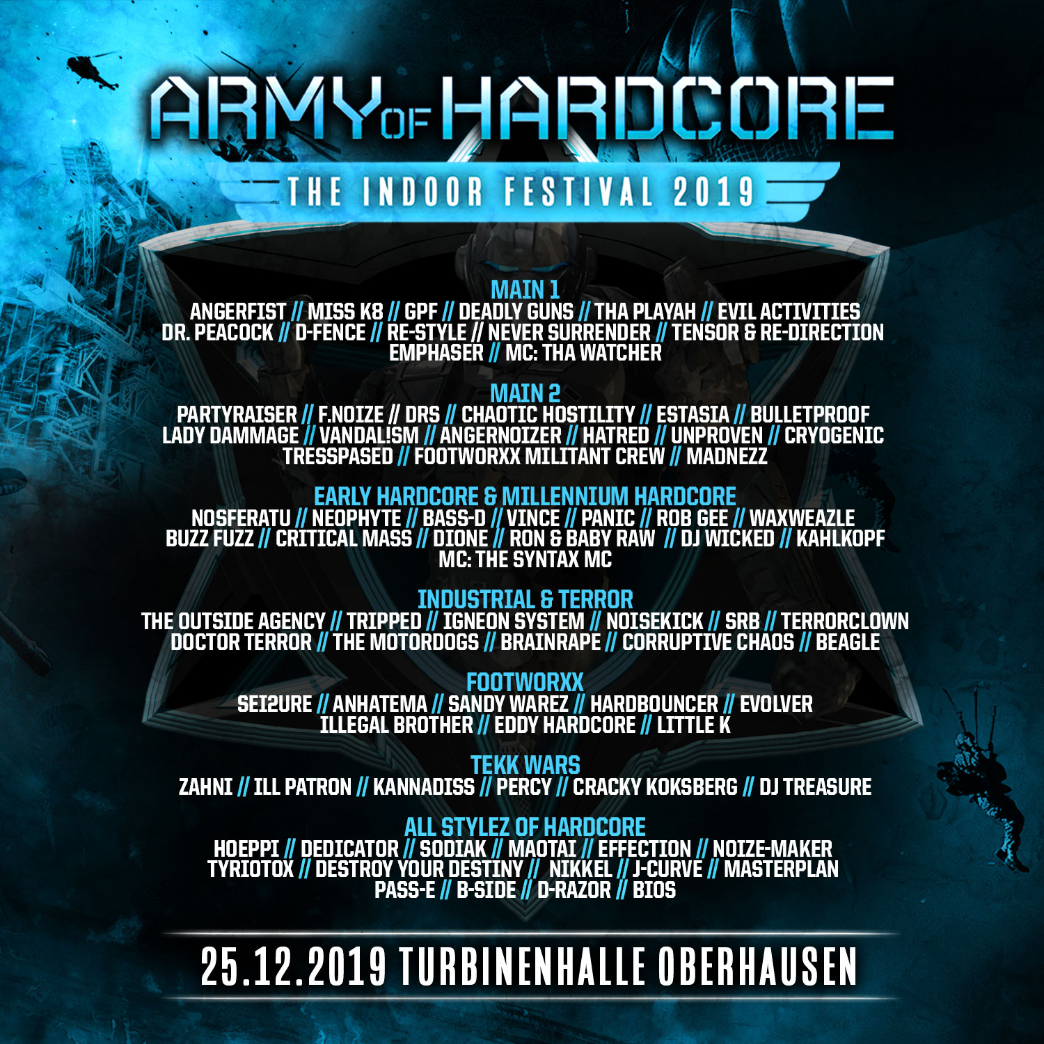 Army of Hardcore 2019