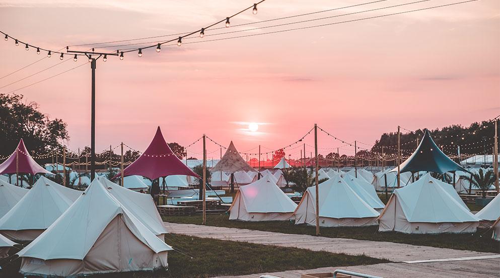 Parookaville Camping