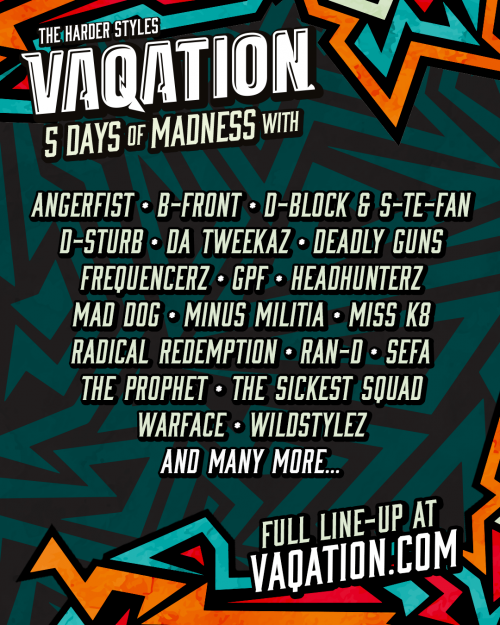 Vaqation 2020 Line Up
