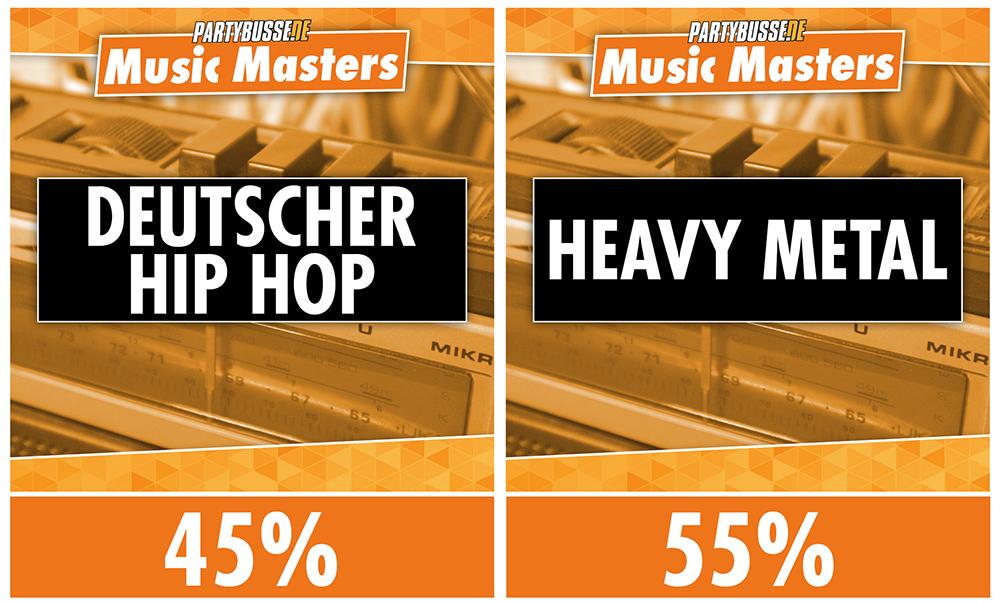 Music Masters - Achtelfinale 1
