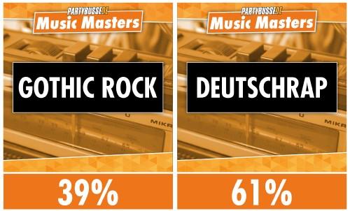 Music Masters - Achtelfinale 6