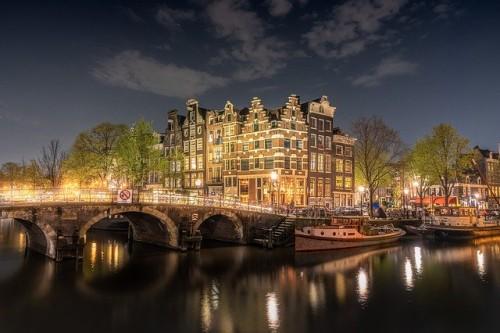 Feiern in Amsterdam