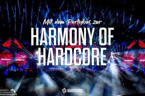 Harmony of Hardcore - Bustour
