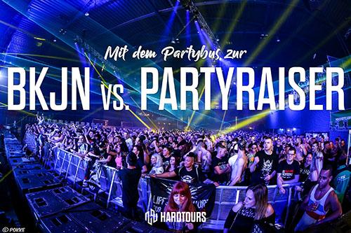 BKJN vs. Partyraiser