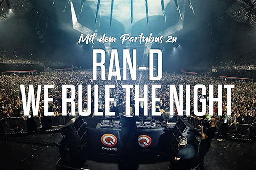 Ran-D presents We rule the night - Bustour
