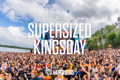 Supersized Kingsday Festival - Bustour