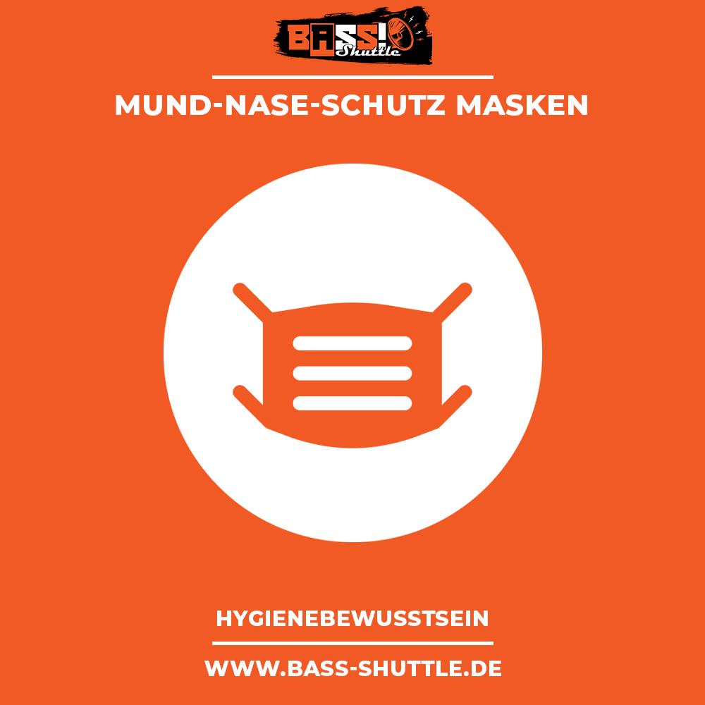 Bass Shuttle Partybus - Hygienestandards