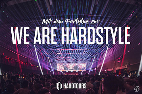 We are Hardstyle - Bustour