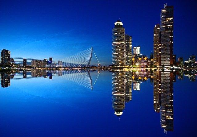 Feiern in Rotterdam