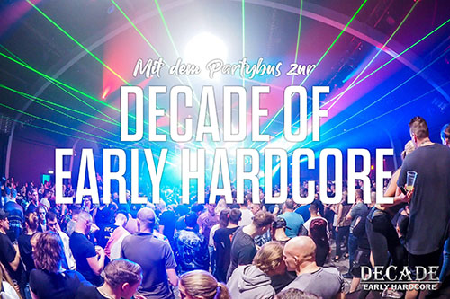 Decade of Early Hardcore - Bustour