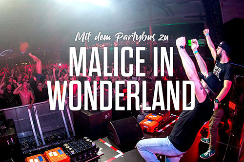 Malice in Wonderland - Bustour