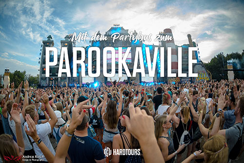 Parookaville - Bustour