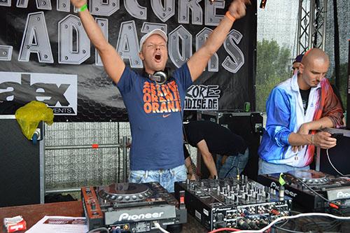Hardcore Gladiators Bustour Partybus